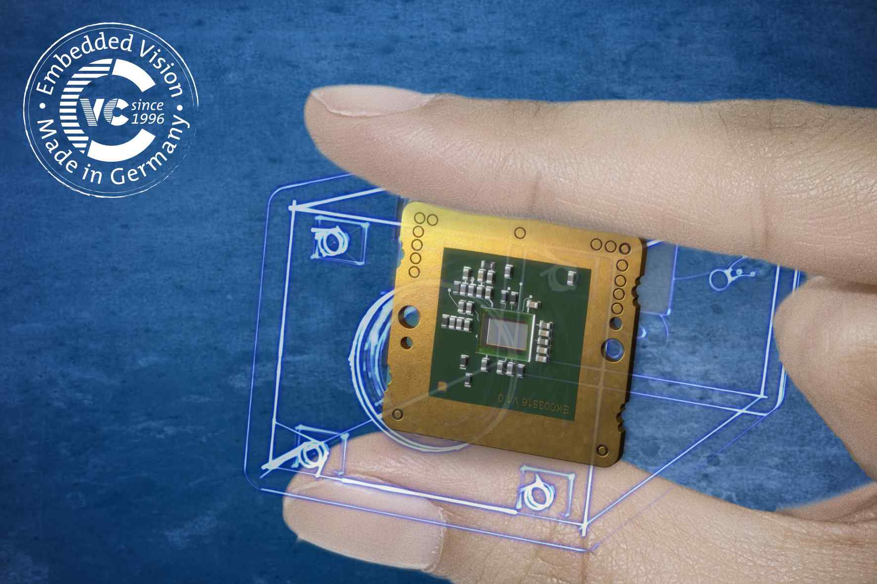 VC picoSmart is probably the smallest embedded vision system in the world