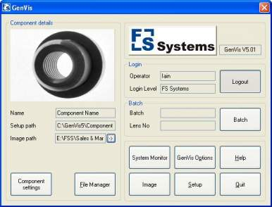 Thumbnail of GenVis Machine Vision Software image